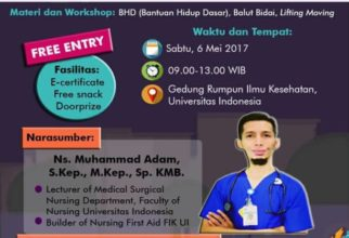 UPCOMING EVENTS – Open House NuFA FIK UI 2017